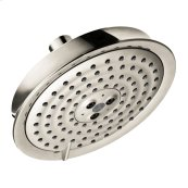 Polished Nickel Showerhead 150 3-Jet, 2.0 GPM