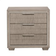 Contemporary Nightstand with USB Ports Product Image