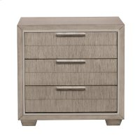 Reynold USB 3 Drawer Nightstand Product Image