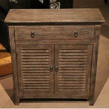 1 Drawer, 2 Door Cabinet