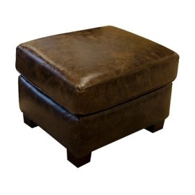 Leather Lillian Ottoman 3C07AL