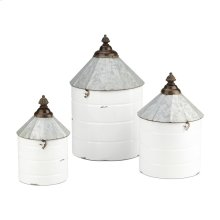 Savannah Decorative Containers - Set of 3