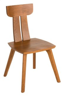 Side Chair with Wood Seat