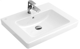 "Washbasin 26"" Angular - White Alpin CeramicPlus"