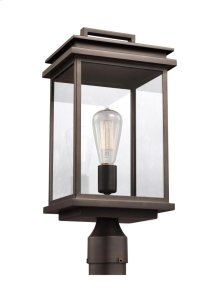 1 - Light Outdoor Post Lantern