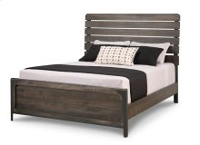 Portland Slatted Queen Bed with 22'' Low Footboard
