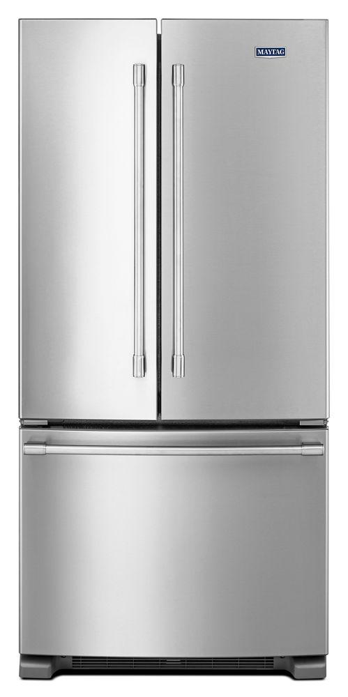 33 Inch Wide French Door Refrigerator   22 Cu.