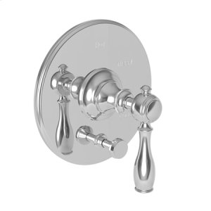 Venetian Bronze Balanced Pressure Tub & Shower Diverter Plate with Handle. Less Showerhead, arm and flange.