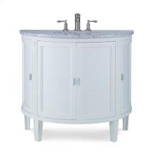 Park Avenue Sink Chest - White