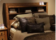King Bookcase Headboard