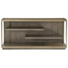 Profile Console Table in Warm Taupe (378)