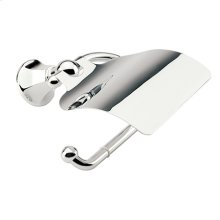Satin Nickel Hooded Toilet Tissue Holder