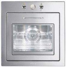"""60CM (approx 24 ) """"Piano Design"""" Thermo-ventilated Electric Multifunction Oven Polished Stainless Steel"""