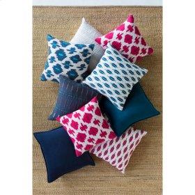 """Kikuyu KIK-003 18"""" x 18"""" Pillow Shell with Polyester Insert"""
