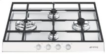 """Gas Cooktop, 60 cm (approx. 24""""), White"""