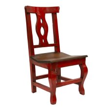 Red/Walnut Alis Chair