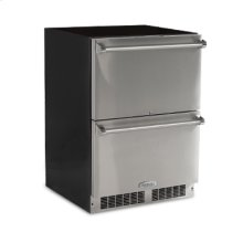 "24"" Refrigerated Drawers - Solid Panel Overlay Ready Drawer Fronts, With Lock Sold without handles"