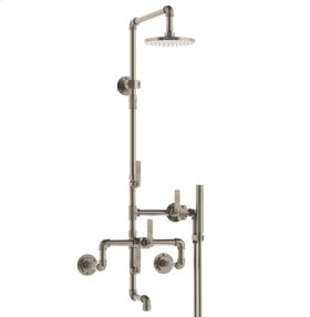 Thermostatic Exposed Wall Tub/shower/ Hand Shower System