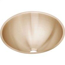 """Elkay CuVerro Antimicrobial Copper 18-3/8"""" x 18-3/8"""" x 8"""", Single Bowl Undermount Bathroom Sink"""