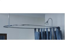"Rectangular Shower Curtain Frame 24"" x 42"""