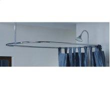 "Rectangular Shower Curtain Frame 24"" x 42"""