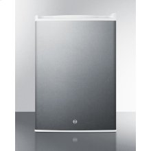 Commercial Style Countertop All-refrigerator In Stainless Steel With Digital Thermostat