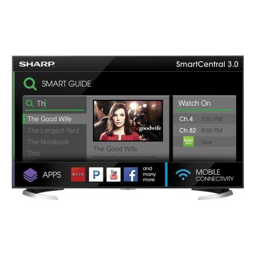 """Sharp 60"""" Class AQUOS 4K Ultra HD Smart TV"""