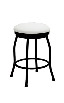 Pittsburg B504H26BS Backless Swivel Bar Stool