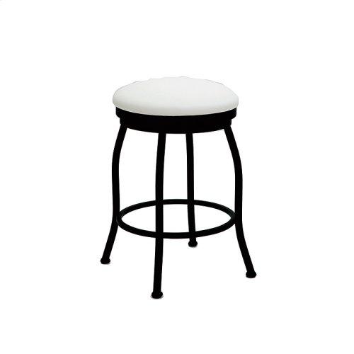 Pittsburg B504H26BS Backless Swivel Bar Stool