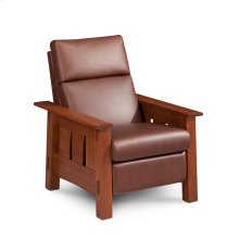 McCoy Recliner, Leather Cushion Seat