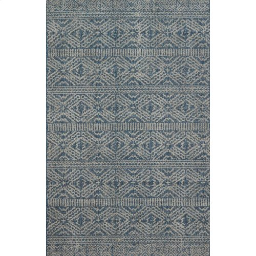 Mh Azure / Silver Rug