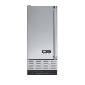 """Stainless Steel 15"""" Undercounter/Freestanding Ice Machine - VUIM (Left Hinge Door)"""