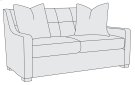 Farrah Loveseat in Mocha (751) Product Image