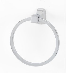 Cube Towel Ring A6540 - Polished Chrome