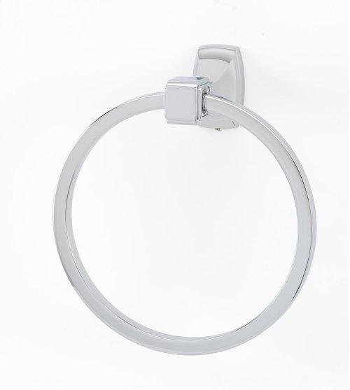 Cube Towel Ring A6540 - Polished Chrome