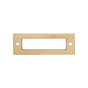 Hollin Backplate 3 Inch - Honey Bronze