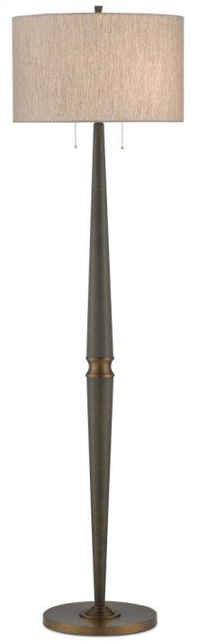 Colee Gray Floor Lamp