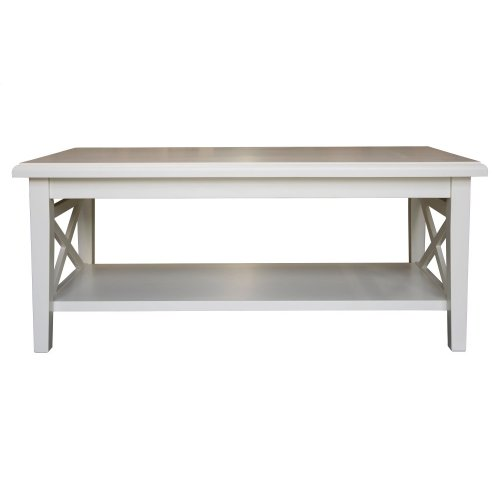 Coffee Table, Available in Cottage White Finish Only.