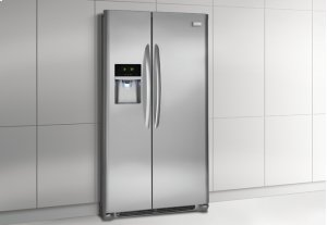 "GREAT PRICE - BRAND NEW - FULL WARRANTY: Frigidaire Gallery 22.2 Cu. Ft. Counter-Depth Side-by-Side Refrigerator -             Width: 36""             Height: 69 7/8""             Depth: 31""             Capacity: 22.2 cu. ft."