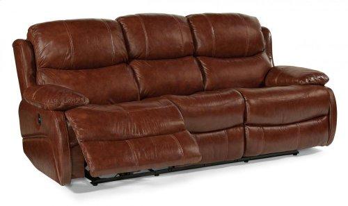 Amsterdam Leather Power Reclining Sofa