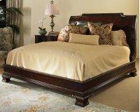 Platform Bed With Bracket Foot & Veneer H.B. King Size 6/6 Product Image
