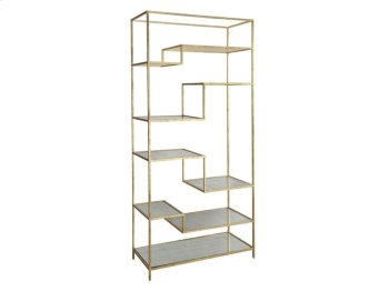 Etagere with Antique Mirror Product Image