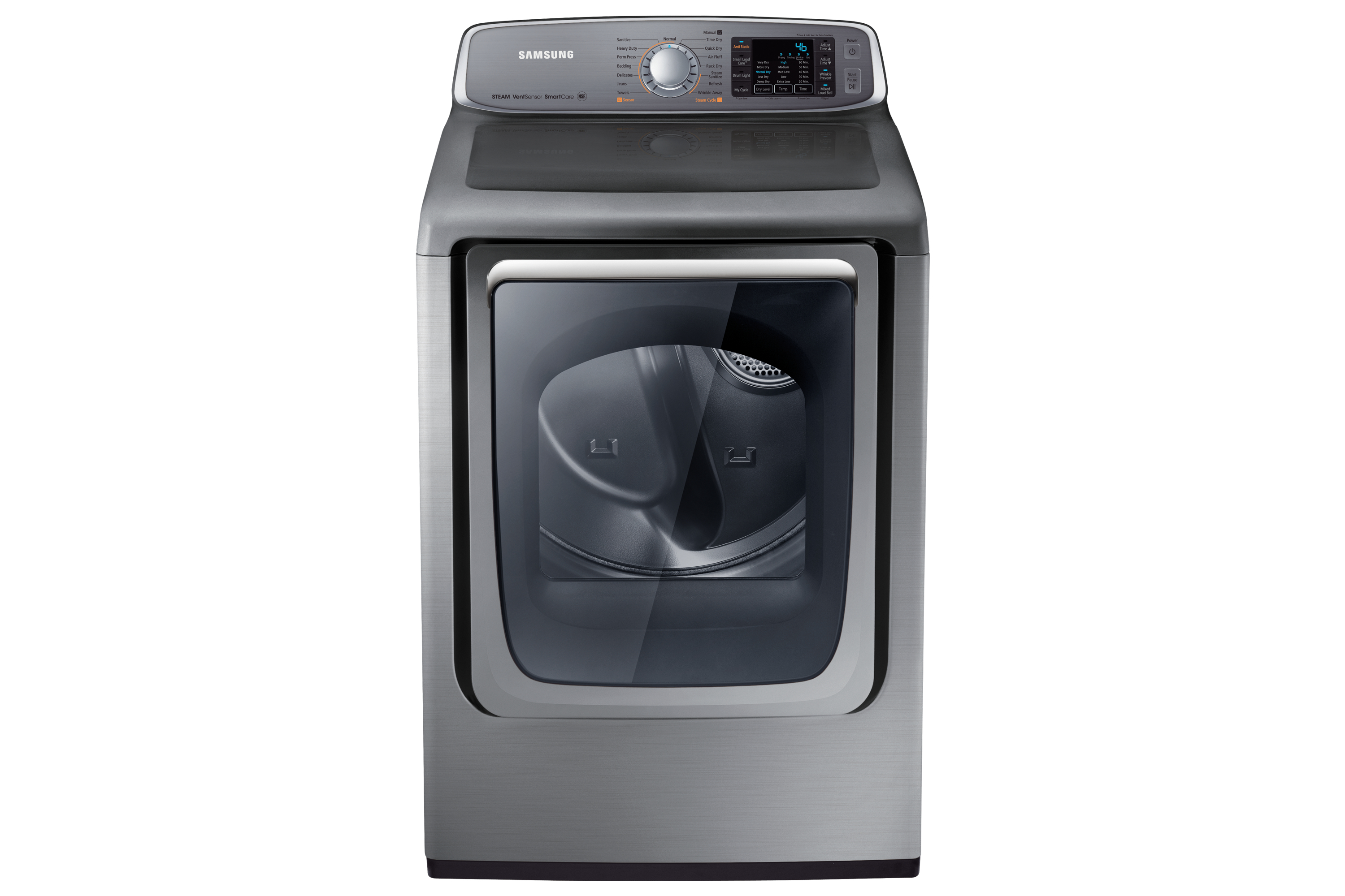 DV50 7.4 cu.ft Electric Top-Load Dryer (Stainless Platinum)