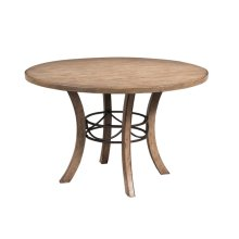 Charleston Wood Round Dining Table