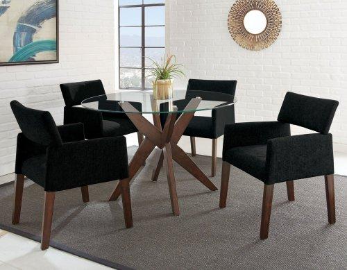 """Amalie Side Chair, Navy 25""""x24""""x33"""""""