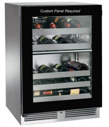 "24""Outdoor Dual-Zone Wine Reserve"
