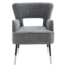 Vince Accent Chair in Grey Blend