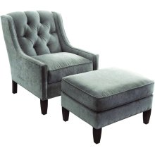 Merrill Chair and Ottoman