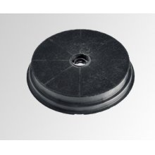 Round replacement carbon filters for recirculation