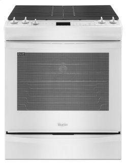 Whirlpool 5.8 cu. ft. Front-Control Gas Range with TimeSavor Convection